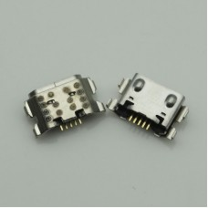10pcs Micro USB 5Pin Jack Connector socket Data charging port tail plug For Samsung Galaxy A01 A015 A015F/DS USB Charging Dock