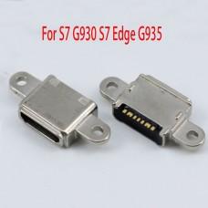 10pcs/lot Original new For Samsung Galaxy S7 G930 S7 Edge G935 Micro Usb Charge Charging Connector Plug Dock Socket Port 7pin