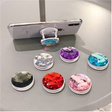 2020 NEW Phone Holder Colorful 3D Gem Ring Expanding Stand popping isocket Bracket Base Finger Top Support Mobile Phone Stand
