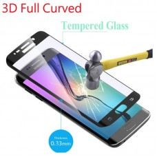 9H 3D Curved Tempered Glass Full Cover for Samsung Galaxy S6 S7 Edge Plus S8 Plus Note 8 Phone Screen Protector Protective Flim