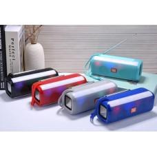 TG144 Wireless Bluetooth 5.0 BT speaker Mini Stereo Bass desktop Portable Music Player wireless speaker with color light & radio