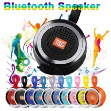 TG146 Portable Bluetooth Mini Speaker with FM Radio Waterproof Subwoofer Wireless TF Card Speaker Subwoofer