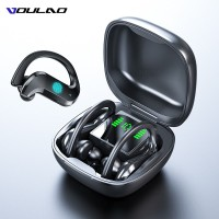 VOULAO Bluetooth Earphone Led Display Wireless Headphone TWS With Microphone Stereo Earbuds Waterproof Noise Cancelling Headsets